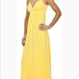 Yellow maxi dress from Mossimo size small
